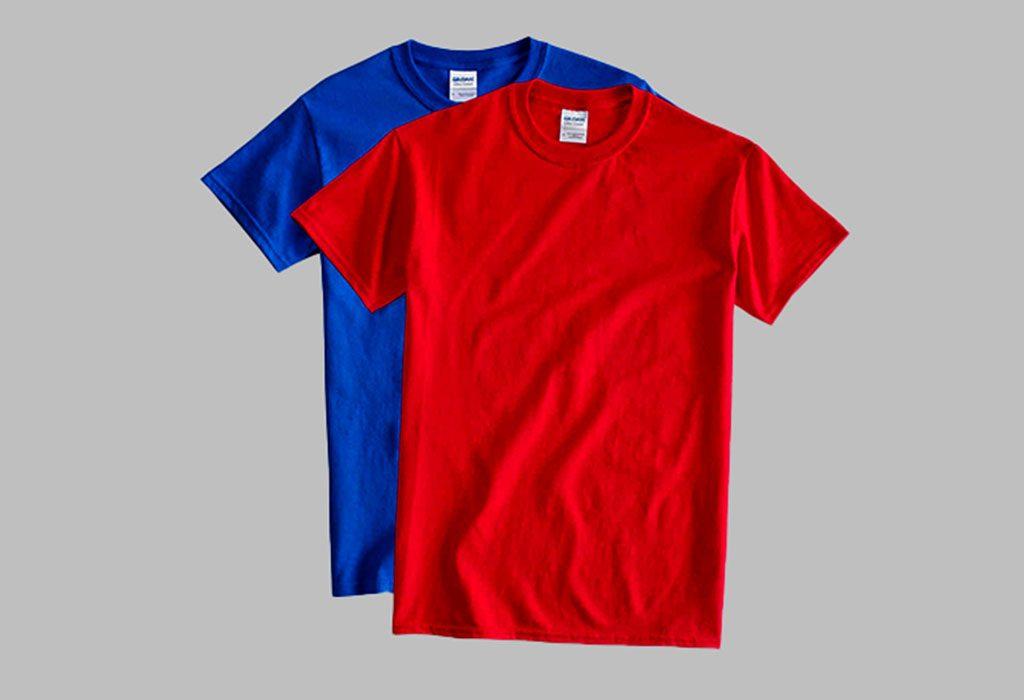 2 colors shirts