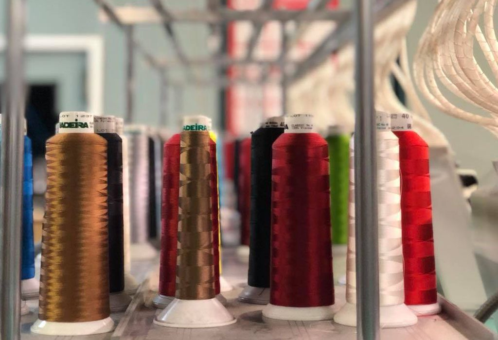 thread used for embroidery