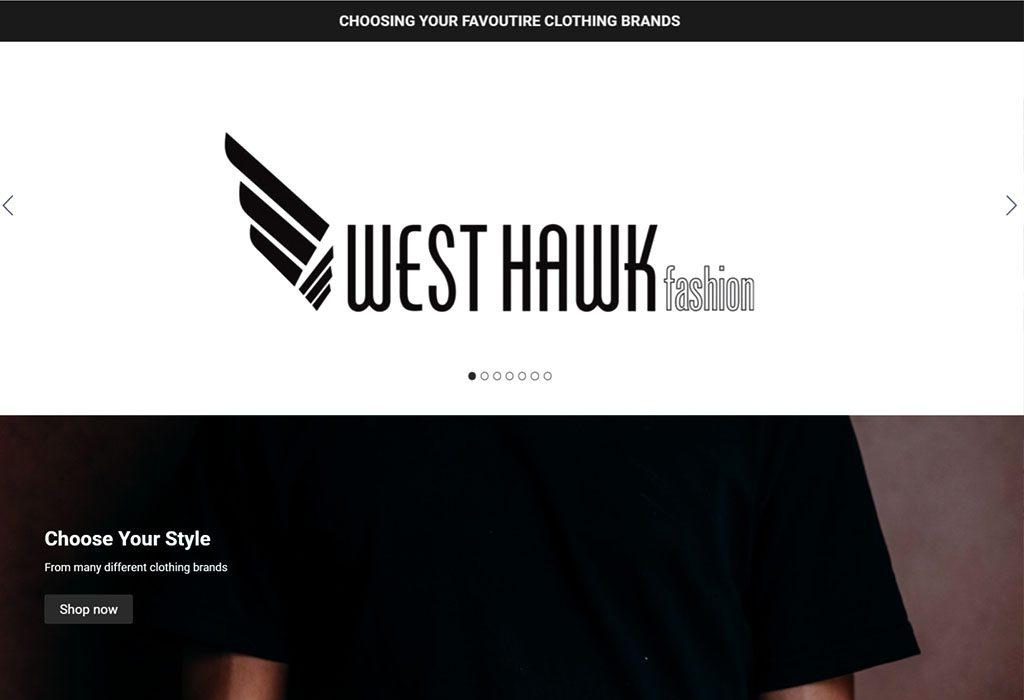 west hawk fashion banner
